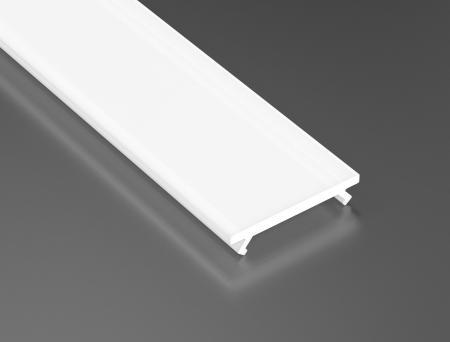 LED21 Mléčný PMMA difuzor KLIK pro profily LUMINES A/B/C/D/G/H/Z/Y 1m